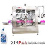 Μηχανή πλήρωσης υγρού μπουκαλιού με γωνιακό λαιμό