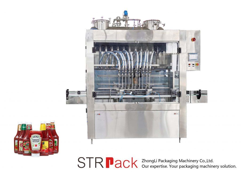 Αυτόματη μηχανή πλήρωσης σάλτσας STRFP