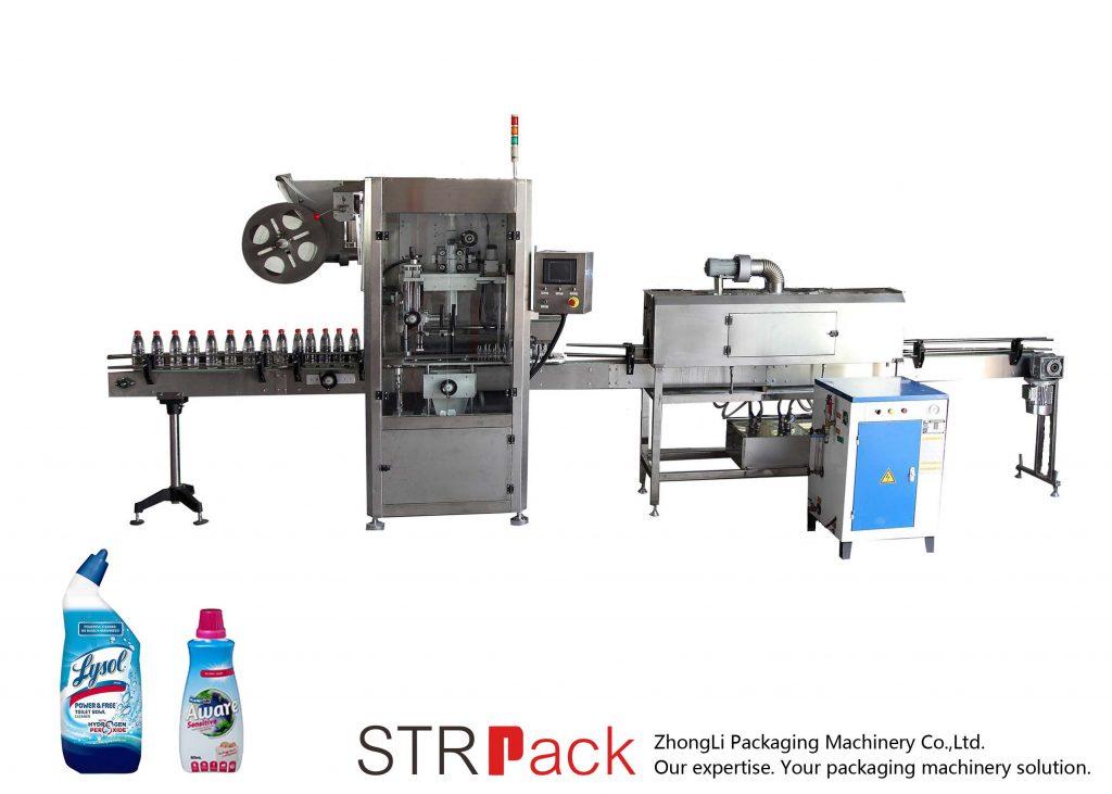 Αυτόματη μηχανή σήμανσης μανικιών συρρίκνωσης