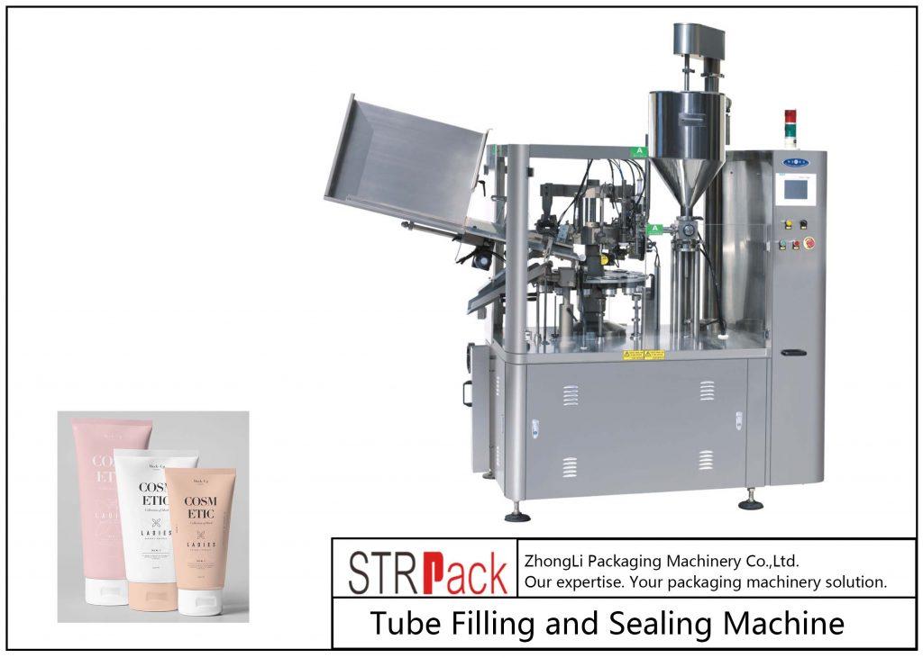 Μηχανή πλήρωσης και στεγανοποίησης πλαστικών σωλήνων SFS-100
