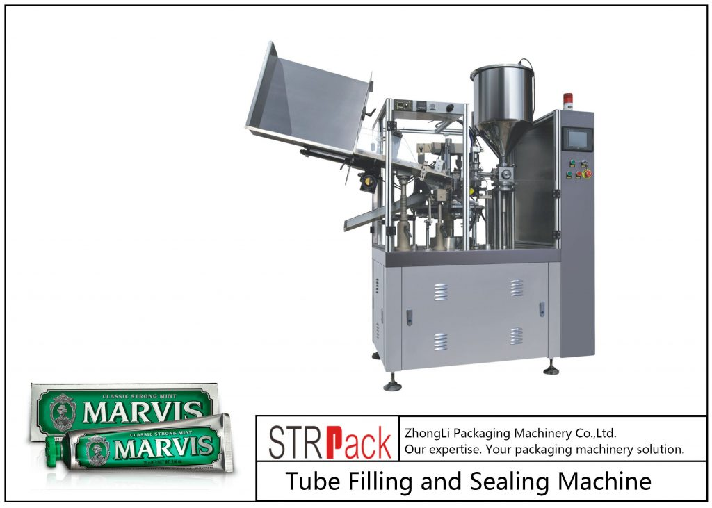 SFS-60 Πλαστικό μηχάνημα πλήρωσης και στεγανοποίησης