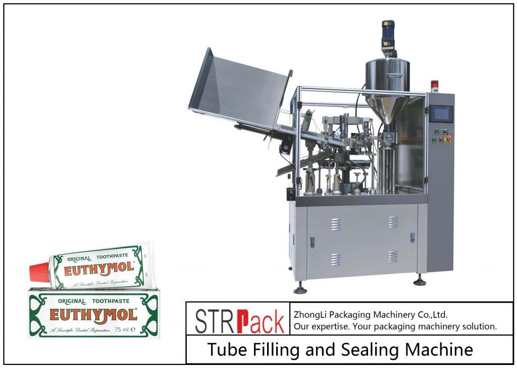 Μηχανή πλήρωσης και στεγανοποίησης μεταλλικών σωλήνων SFS-60Z