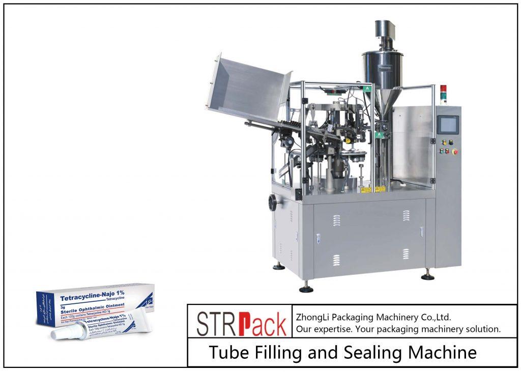 Μηχανή πλήρωσης και σφράγισης μεταλλικών σωλήνων SFS-80Z